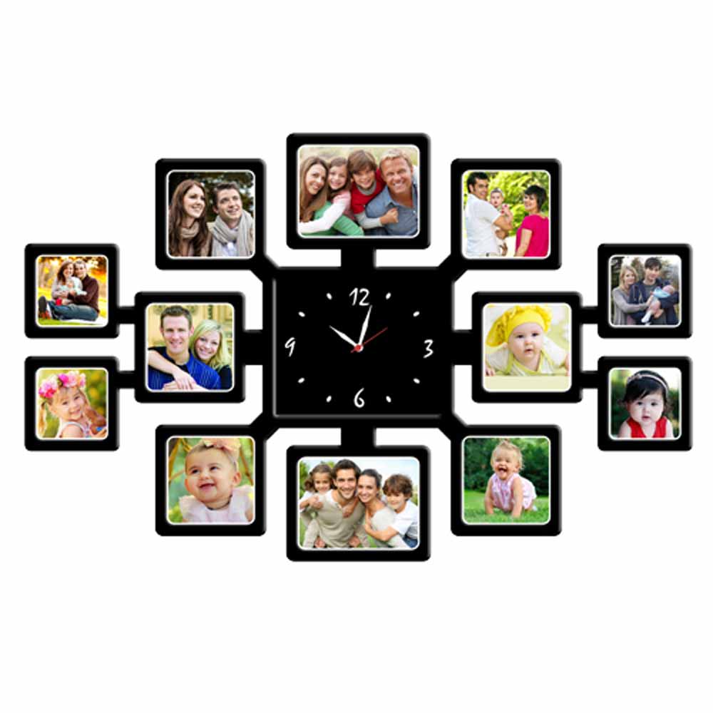 Personalized 12pc Wall Clock - 10