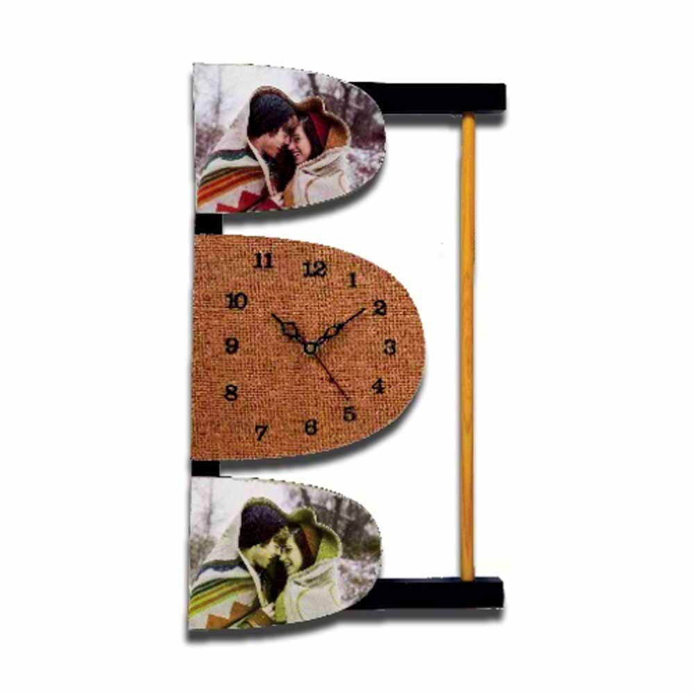 2pc-Vertical-Wall-Clock