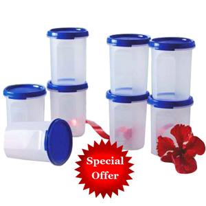 Tupperware Round Container - Set of 4