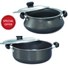Prestige Omega Select Plus Handi with S. S. Lid & Sauce Pan with S. S. Lid