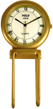 Gold Plated Table Clock