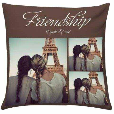 Pillows-Personalize Friendship Cushion