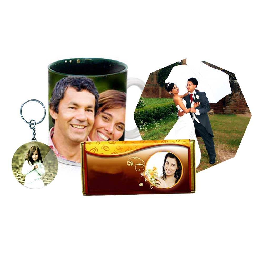 Miscellaneous-Personalized Mug, Keychain, Fridge Magnet & Chocolate