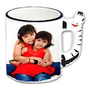 Personalized Animal Handle Photo Mug - Horse