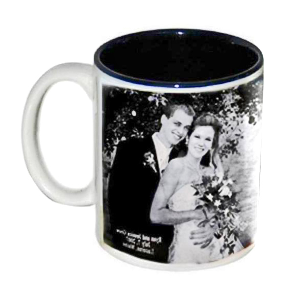 Personalized Two Tone Black Mug