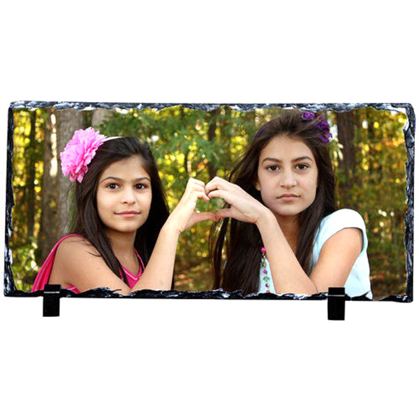 Personalized Photo Rock in Rectangle Shape