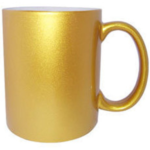 Personalized Golden Photo Mug