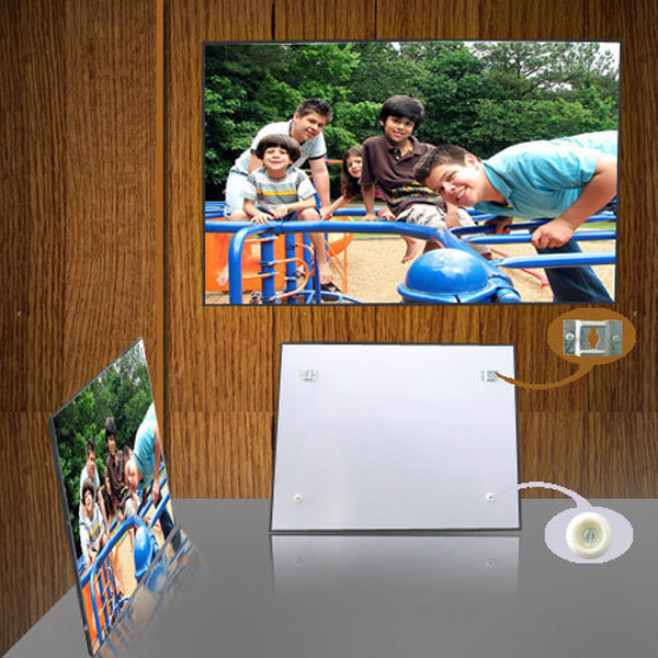 Personalized Glossy Collage Photo Panel in Landscape