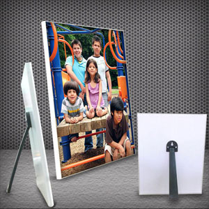Collage-Personalized Matte Collage Photo Panel in Landscape