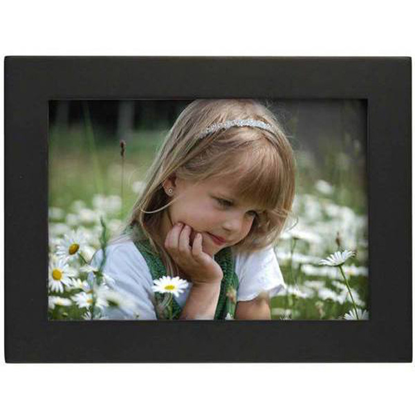 Single Photo Frame Black Landscape