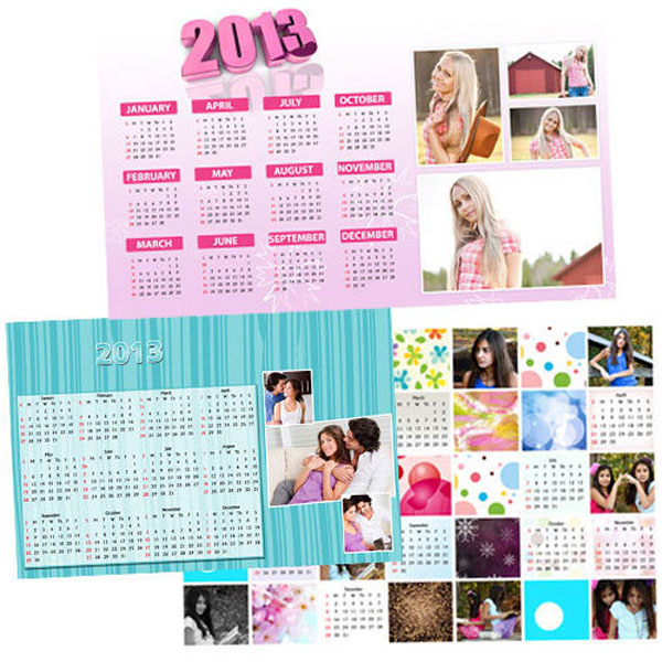 Personalized Matte Finish Calendar Poster- Portrait