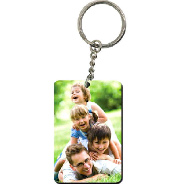 Personalized Rectangle Acrylic Keychain