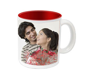 Personalized Red 2 Tone Mug