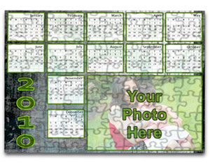 Personalized Calendar Puzzle