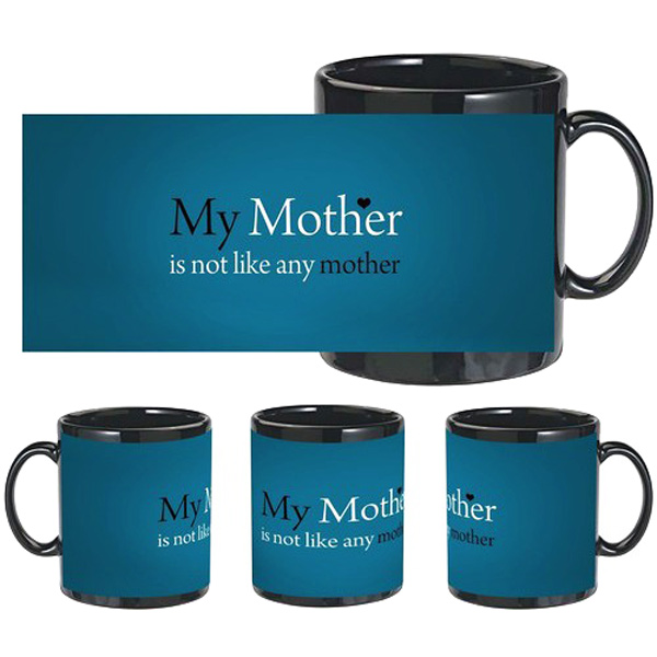 Best Mother Black Mug