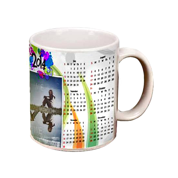 Personalized Calendar Photo Mug