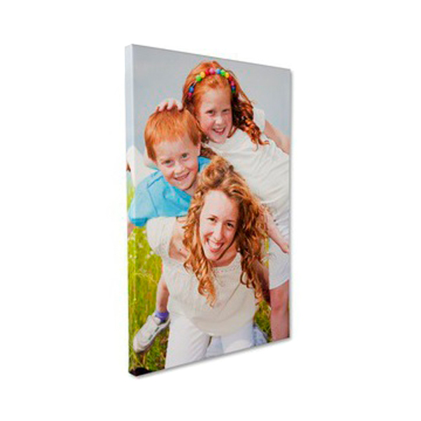 Personalized Canvas Print - Gallery Wrapped - Portrait