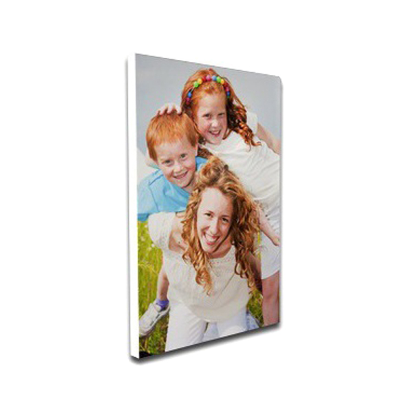 Personalized Canvas Print Mounted - Portrait