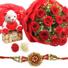 Gift Rakhi Love Hamper on Rakhi