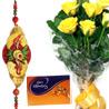 Gift Rakhi Roses N Celebrations on Rakhi