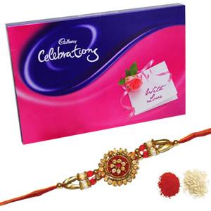Upto 750 Rs-Rakhi with Cadbury