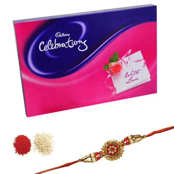 Rakhi with Cadbury