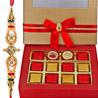 Gift Rakhi Choco Greetings on Rakhi