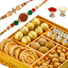 Gift Haldirams Auspicious Rakhi Greetings on Rakhi