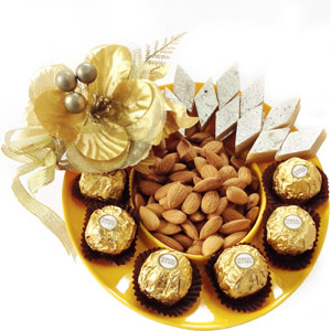 Chocolate Hampers-Ferrero Mithai Platter