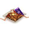 Gift Almonds Platter On Rakhi on Rakhi