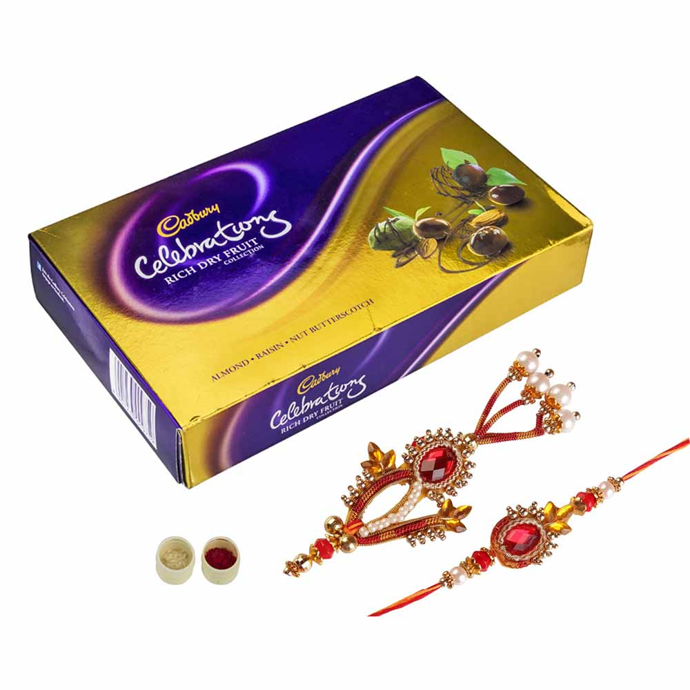 Rakhi Hampers-Bhaiya Bhabhi Rakhi Celebrations