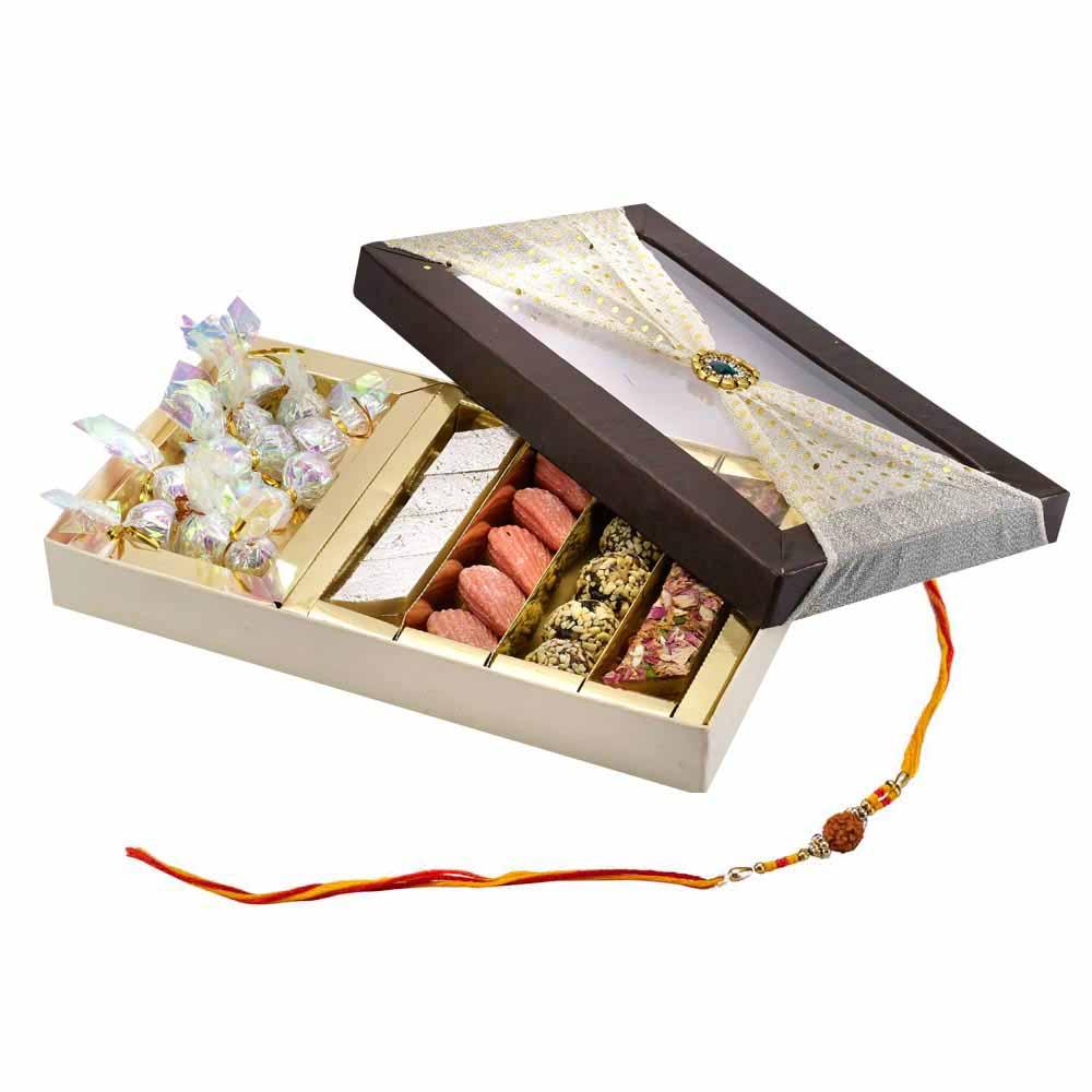 Send Gifts To India Send Rakhi Thaalis To India Assorted Classic Rakhi