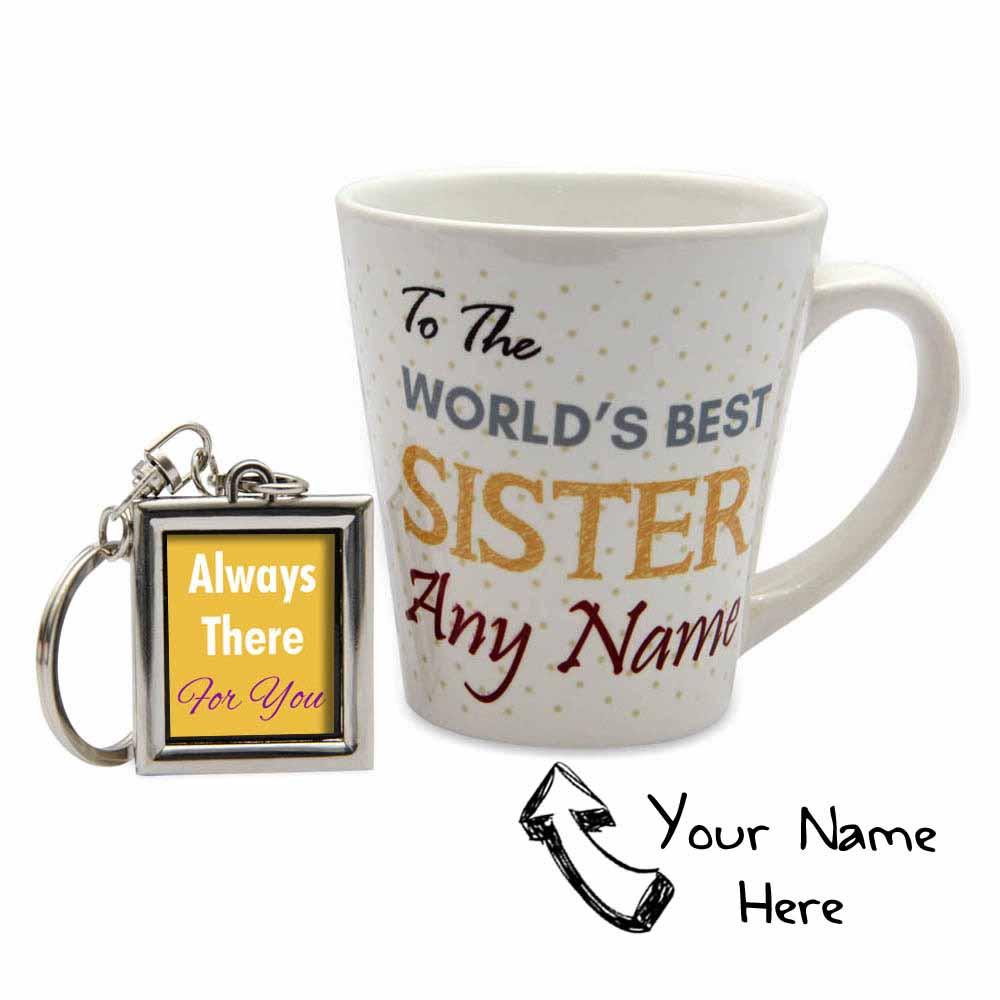 Personalized Best Sister Rakhi Combo
