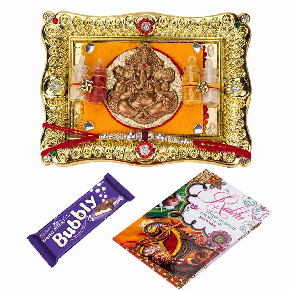 Rakhi Hampers-Chocolaty Rakhi wishes