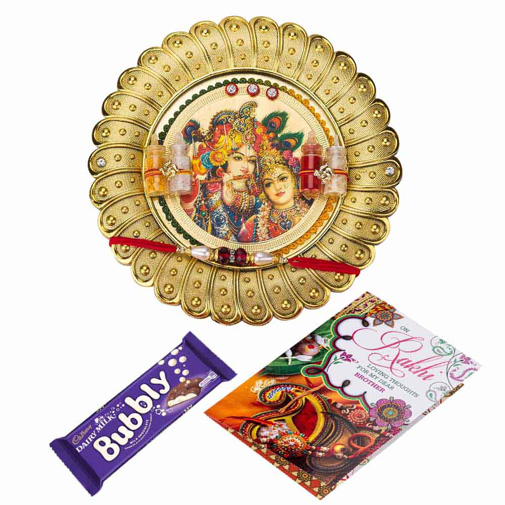 Gift Sweet Rakhi Wishes on Rakhi