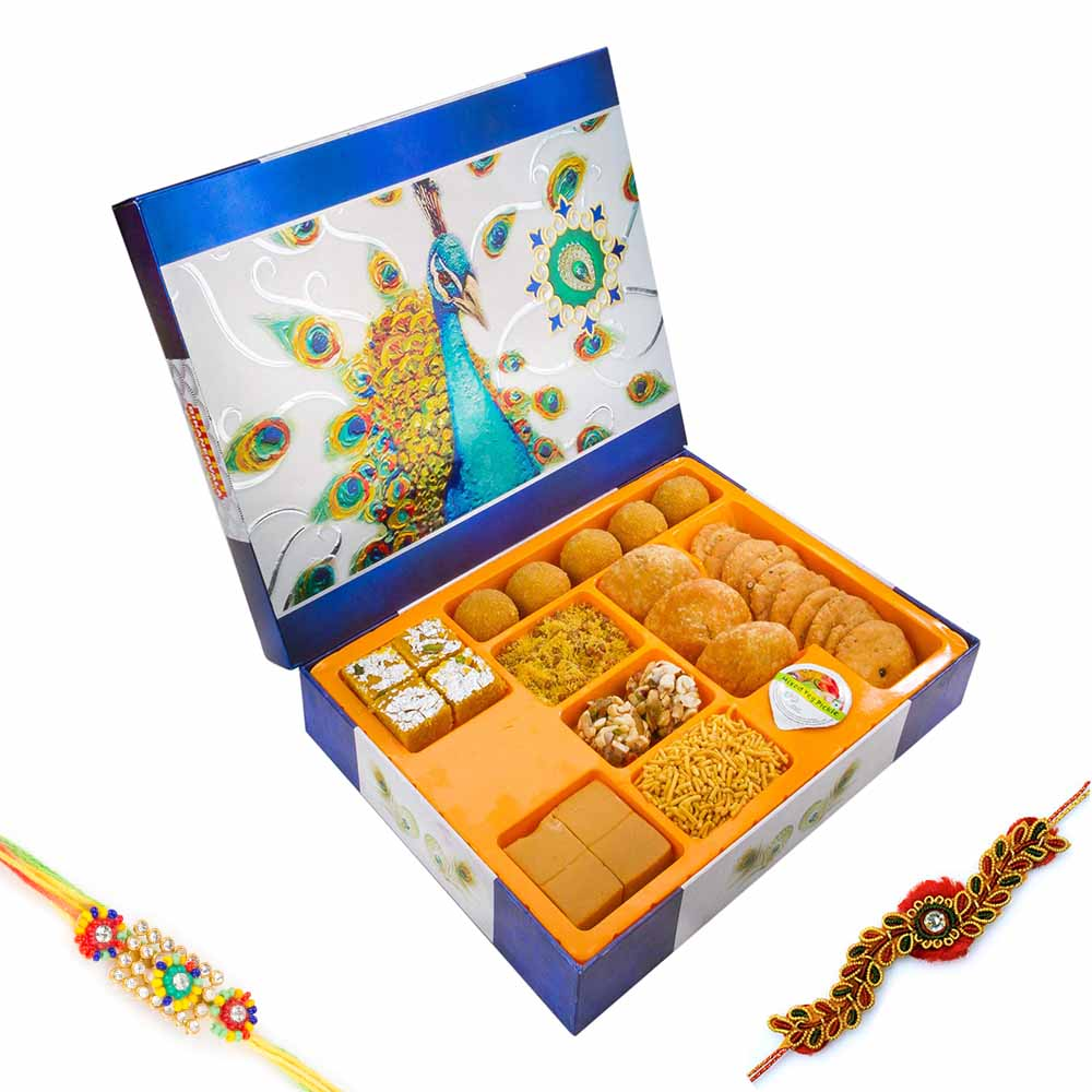 Bikanervala Mor Pankhi Sweet n Savory Delight
