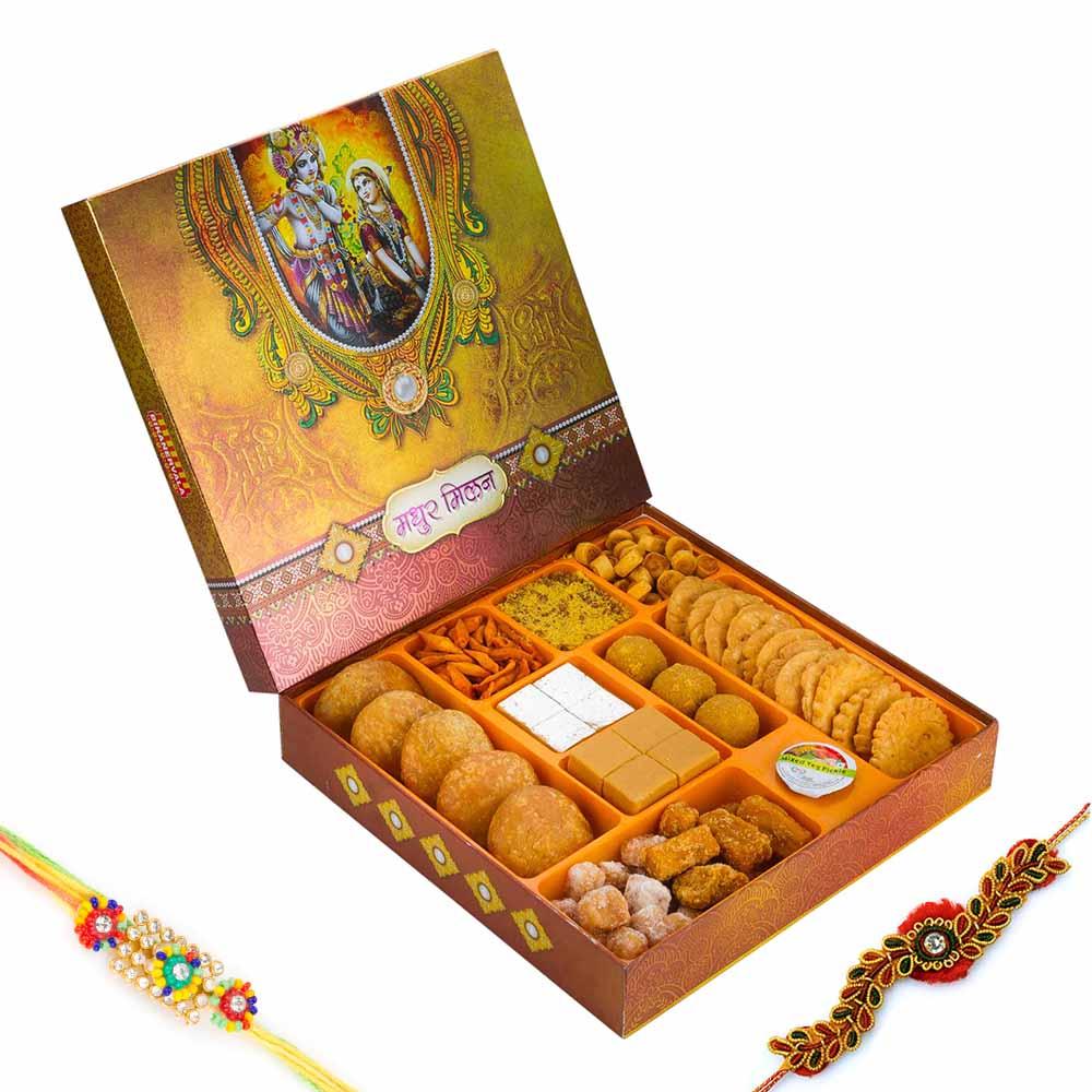 Bikanervala Madhur Milan Sweet n Savory Delight