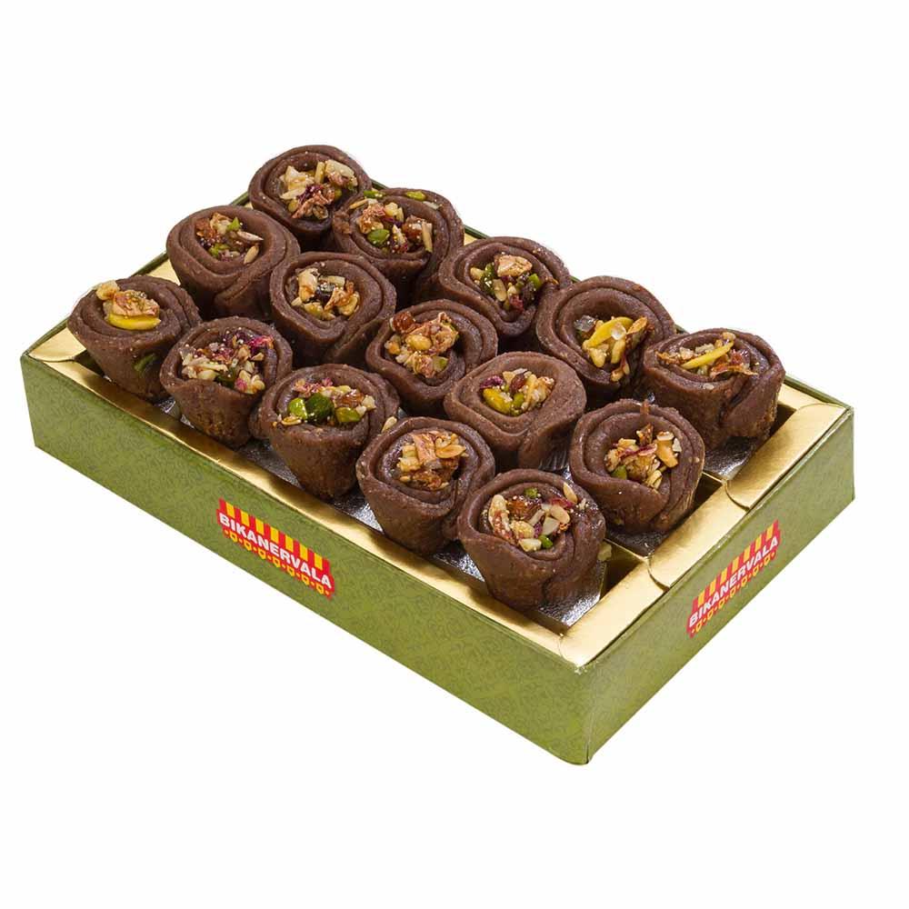 Bikanervala Chocolate Kaju Katori