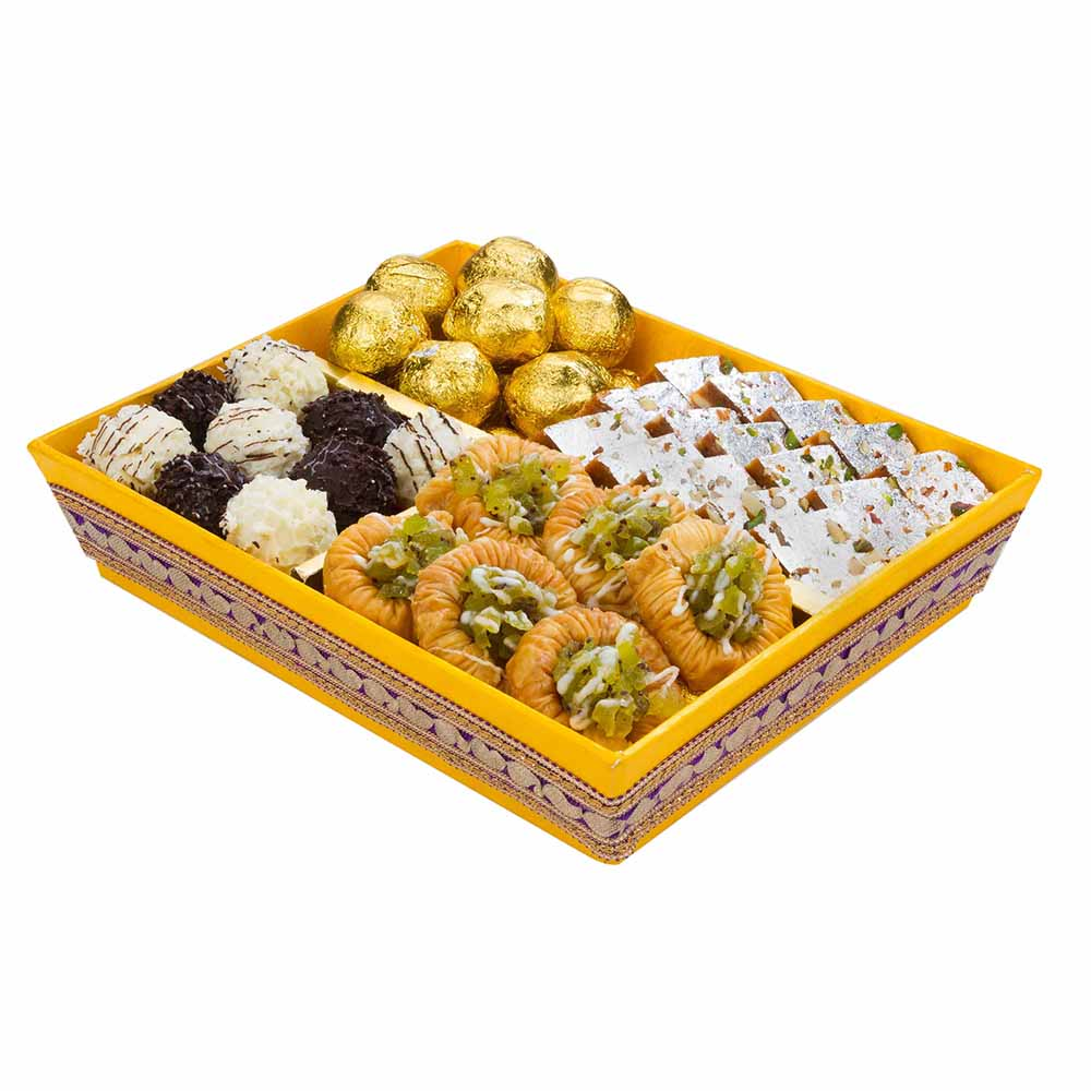 Rakhi Hampers-Sunshine Rakhi Hamper