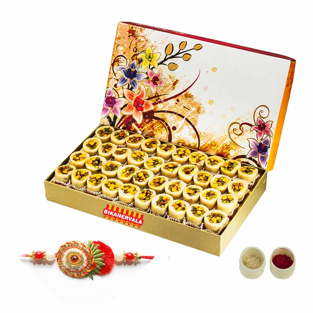 Rakhi Hampers-Bikanervala Kaju Badam Pista Honey Day