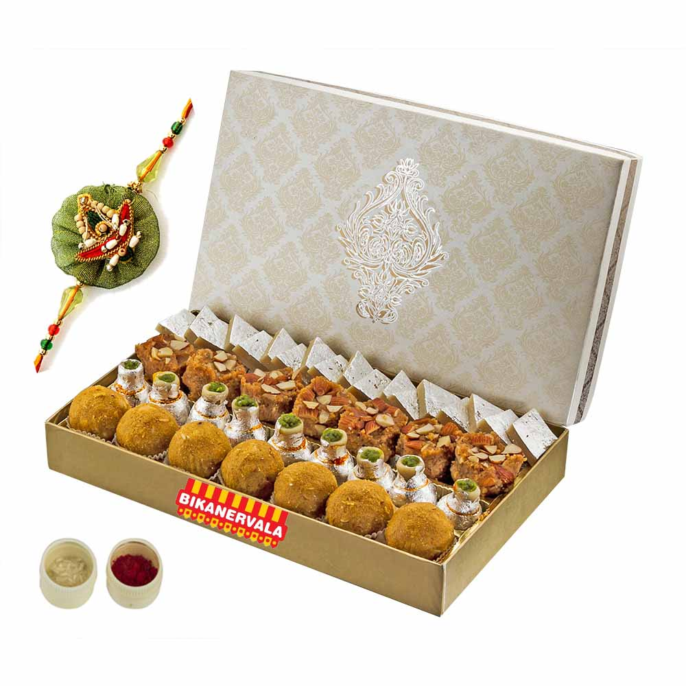 Rakhi Hampers-Bikanervala Delectable Mix