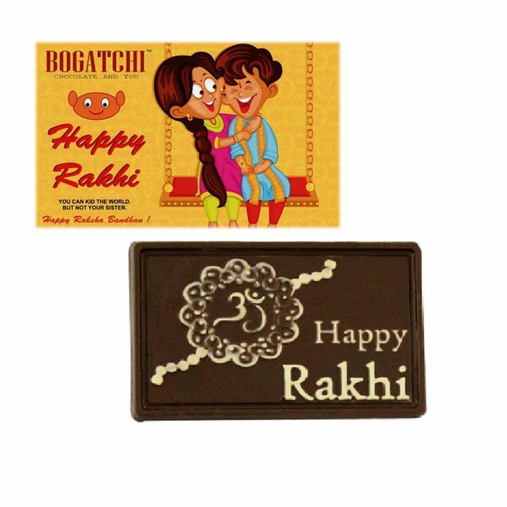 Rakhi Hampers-Bogatchi Happy Rakhi Chocolate Box