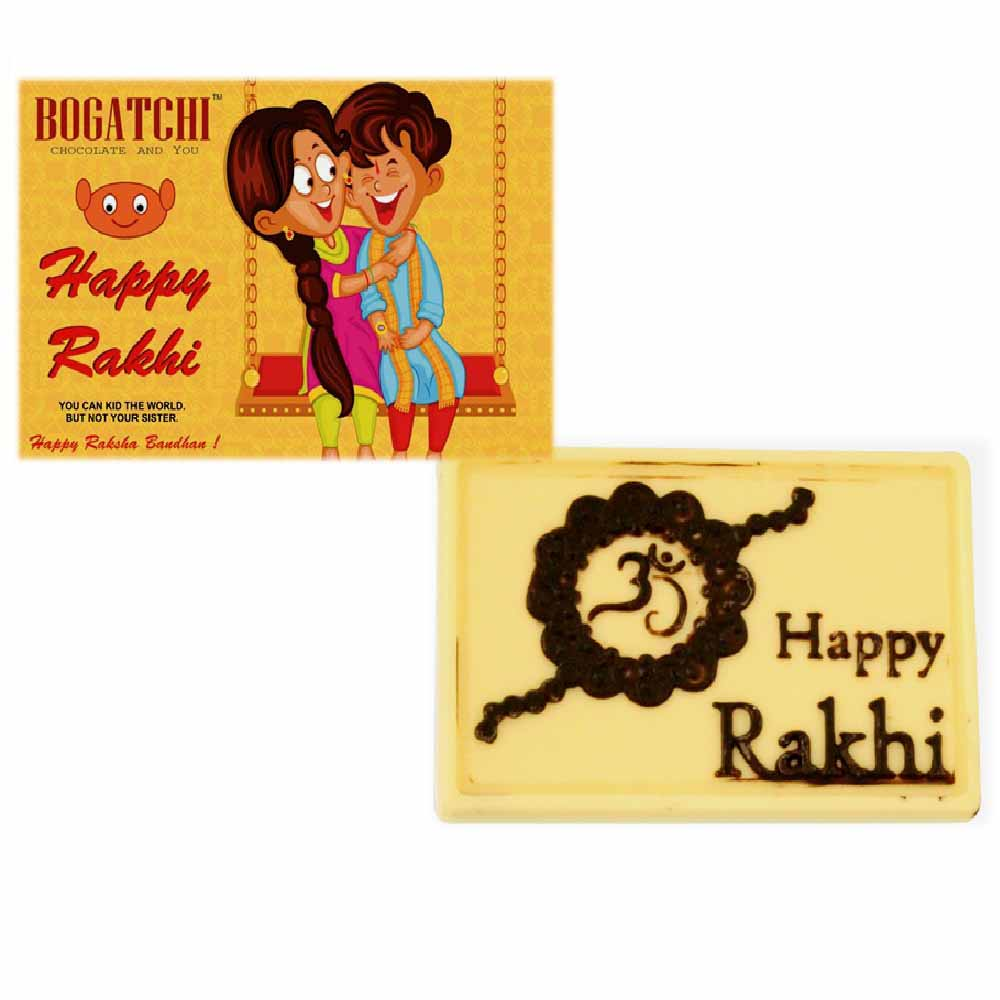 Rakhi Hampers-Bogatchi Happy Rakhi Chocolate Box