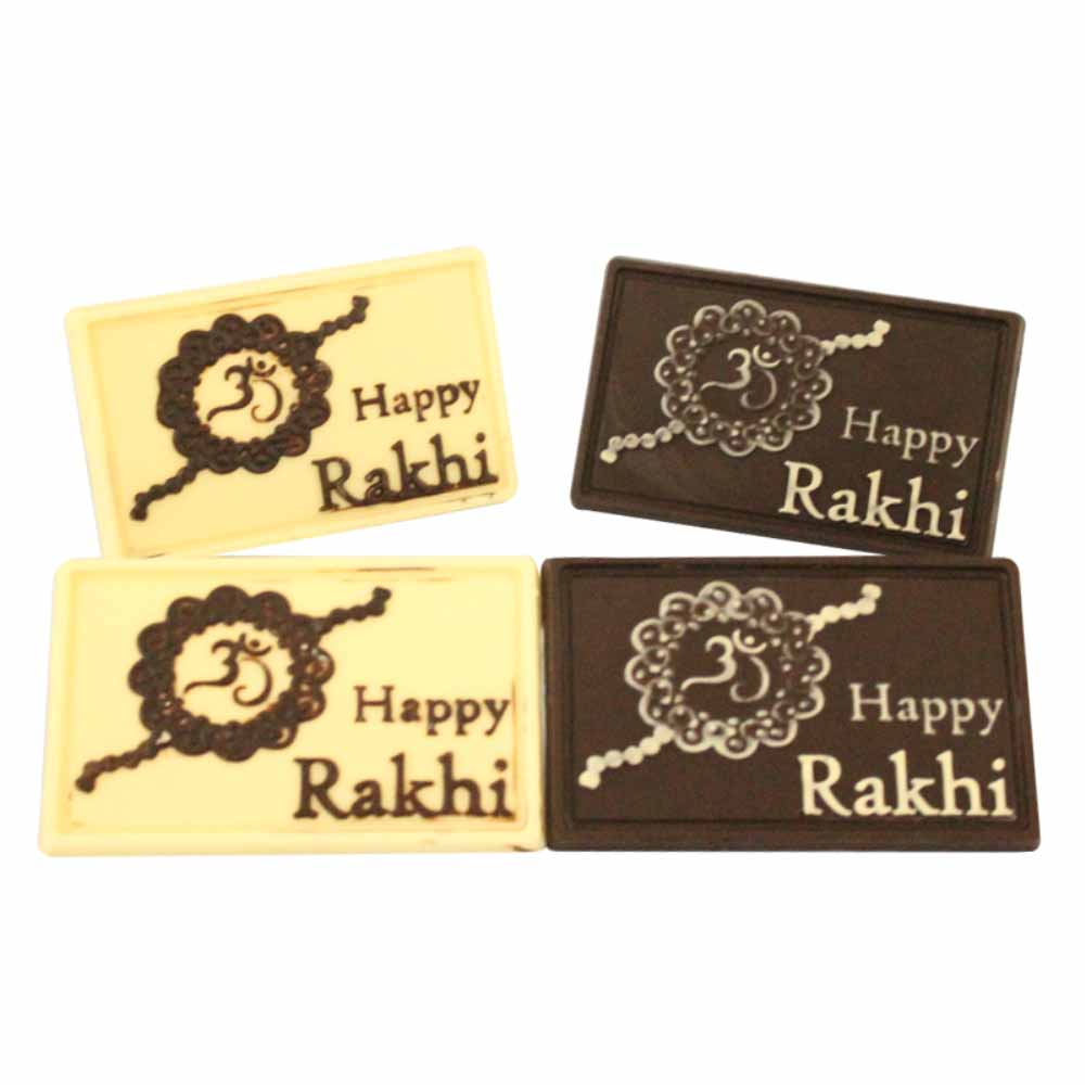 Rakhi Hampers-Bogatchi Quarte Rakhi Wishes Chocolate Box