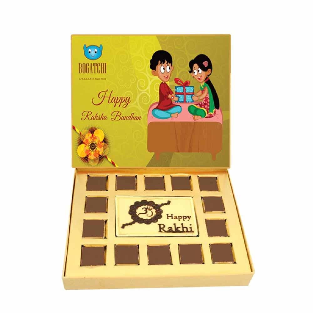Bogatchi Rakhi Chocolate Gift Box