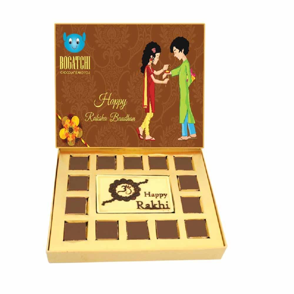 Bogatchi Rakhi Feast Chocolate Box