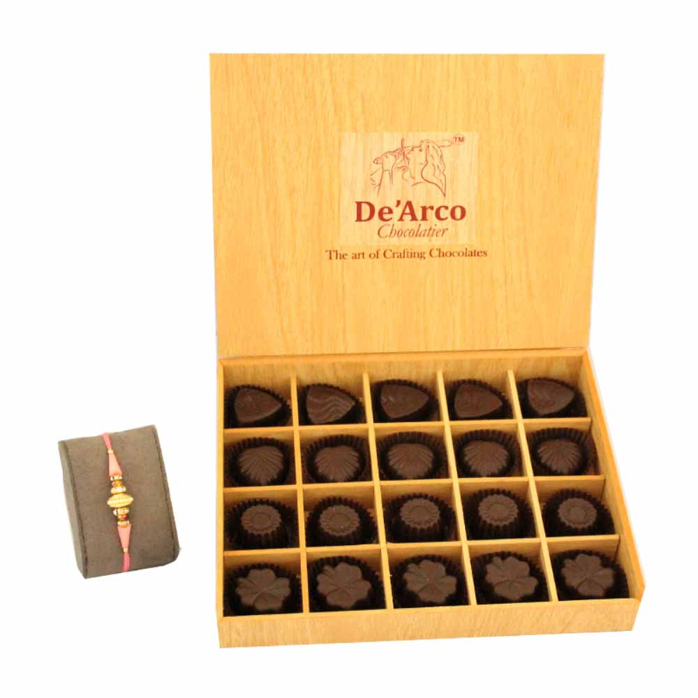Dearco Chocolatier LuxureBoite FreeRakhiA