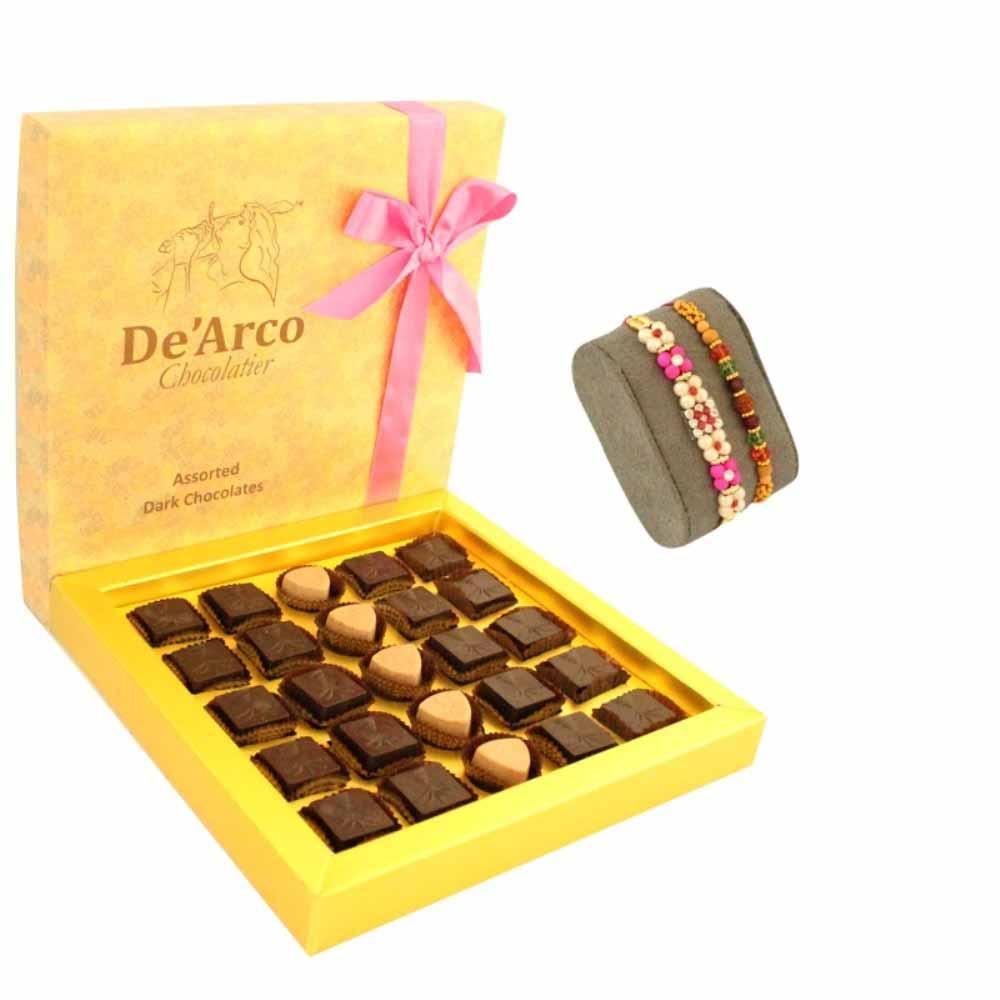 De'arco Chocolatier CrispyLuxure FreeRakhiJP