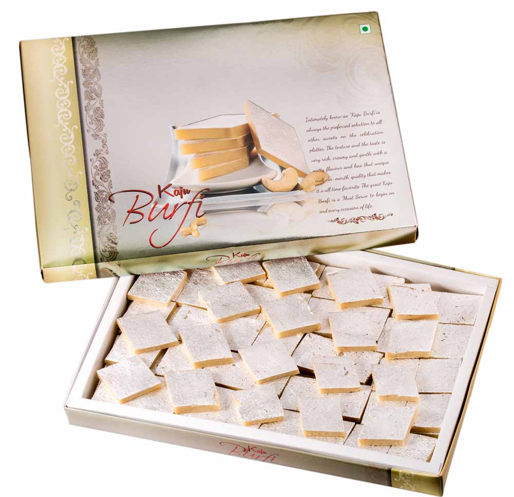 Assorted Mithai Boxes-Bengal Sweet's Simply Kaju Barfi