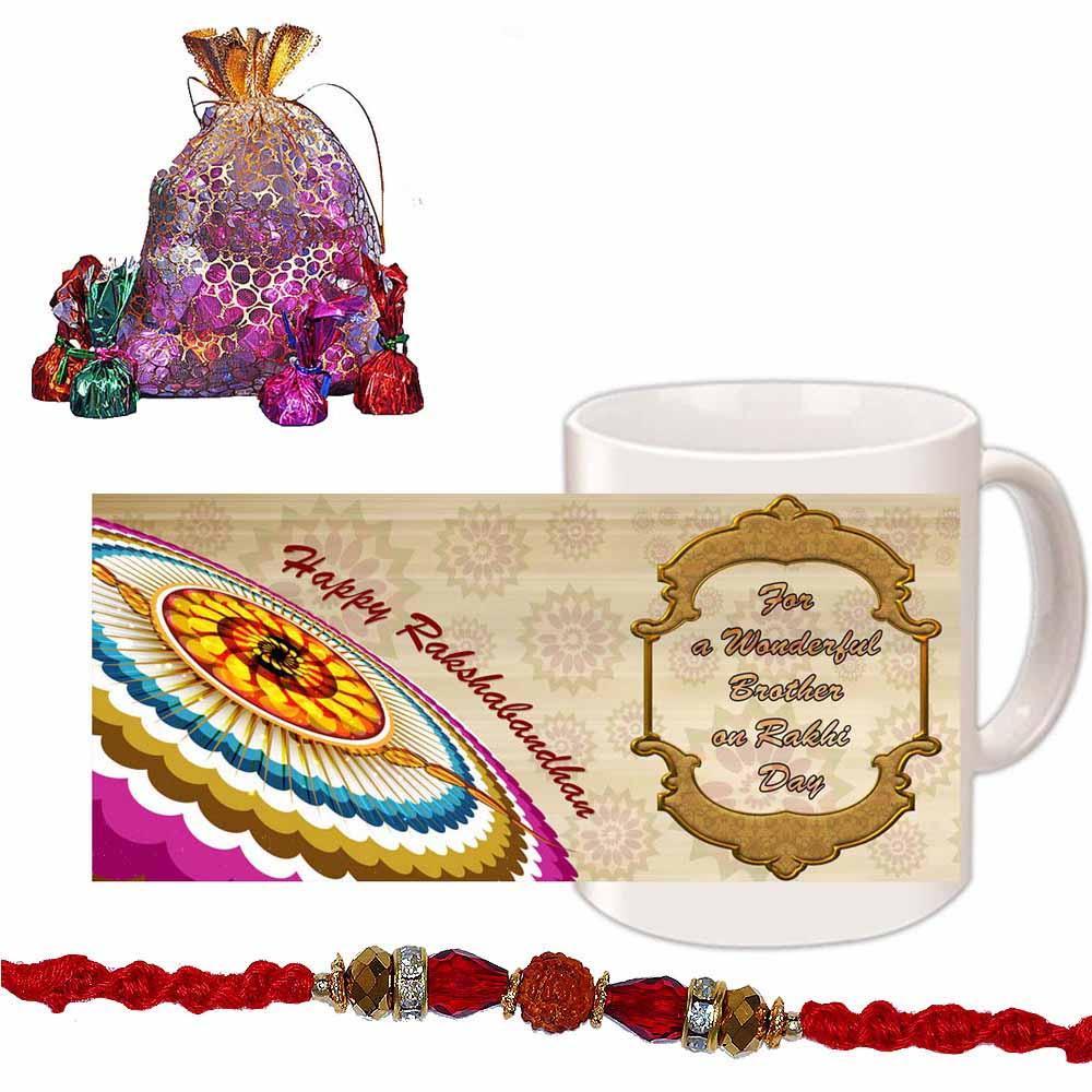 Stone Beads Rakhi